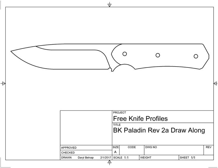 Советы по изготовлению складного ножа своими руками, этапы работы