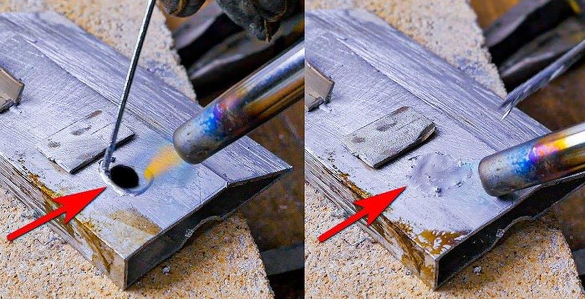 Пайка алюминия в домашних условиях газовой горелкой и паяльником с использованием оловянно-свинцовых припоев