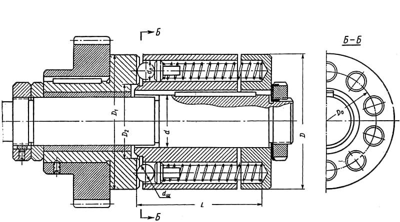 Муфты для соединения валов электрических машин