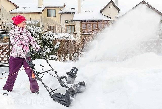 Электролопата для уборки снега – отзывы, эффективность, характеристики