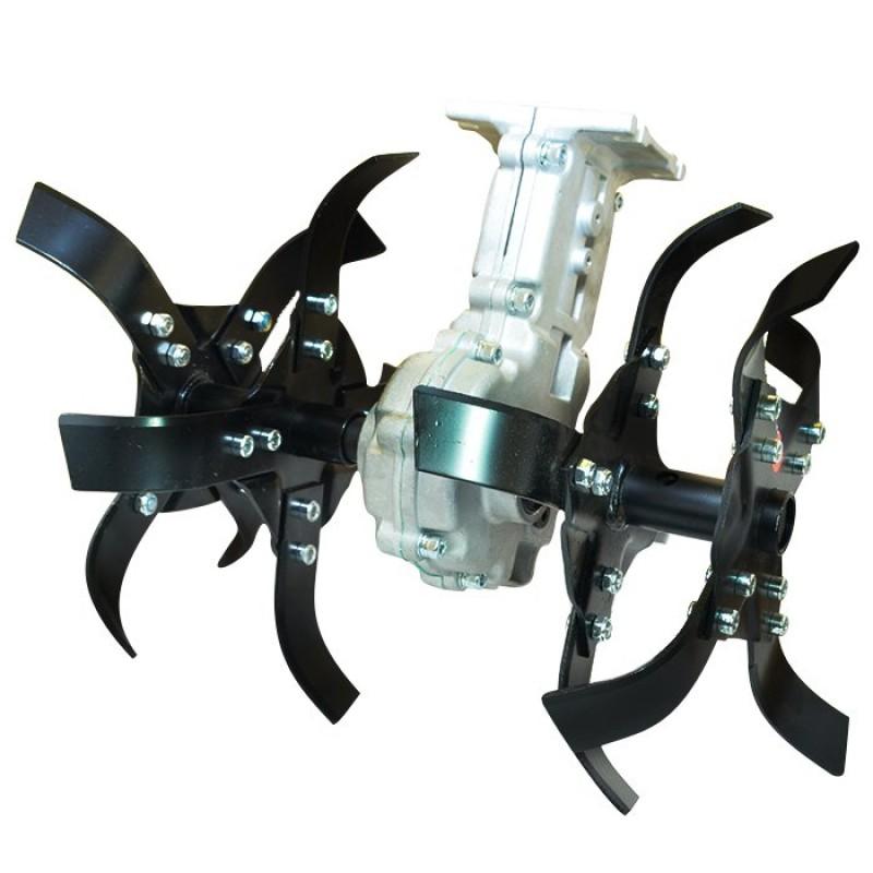 Насадка-культиватор для бензинового триммера: выбираем культиватор для прополки с валом 9 шлицов на бензокосу
