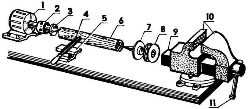 Токарный станок по дереву своими руками: советы по изготовлению и использованию – советы по ремонту
