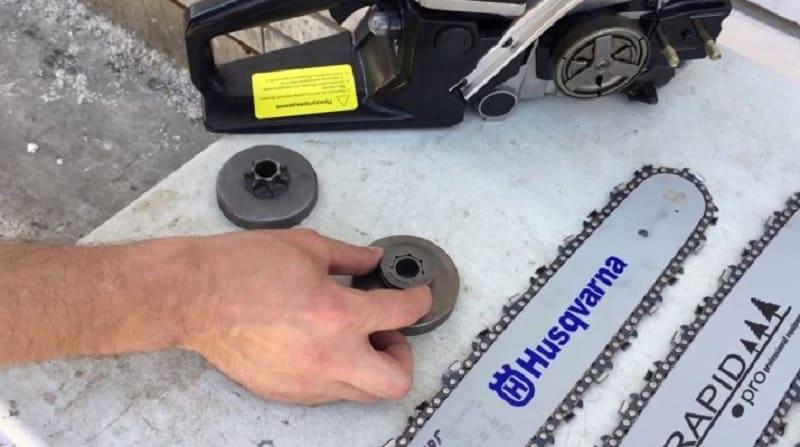 Как натянуть цепь на бензопиле: алгоритм, проверка натяжения