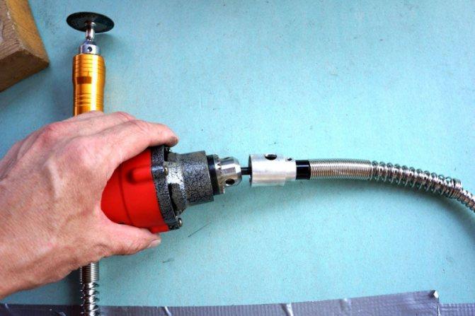 Особенности применения гибкого вала для дрели - рабочаятехника