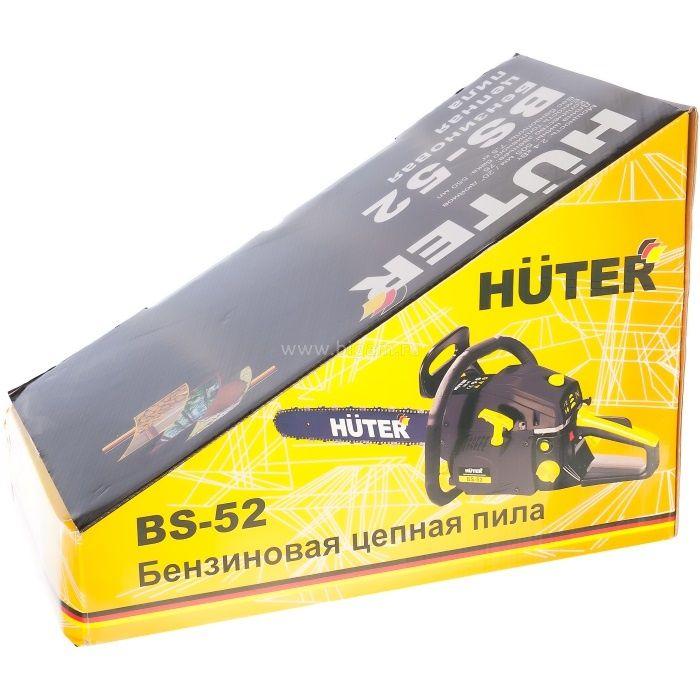 Бензопила bs 45 huter. базовая комплектация, характеристики. инструкция по эксплуатации и обслуживанию