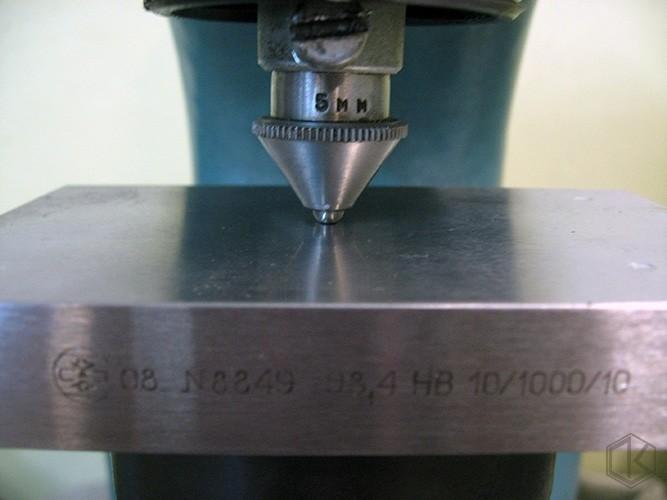 Твердомеры для металлов. метод роквелла и бринелля