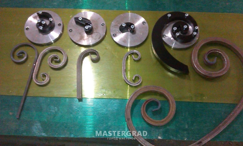 Гибочный станок ажур. особенности станков для ажурной ковки методом холодной штамповки