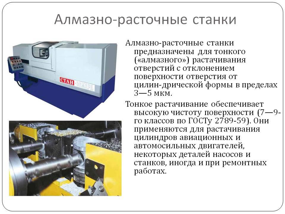 Алмазно-расточные станки  - большая энциклопедия нефти и газа, статья, страница 1