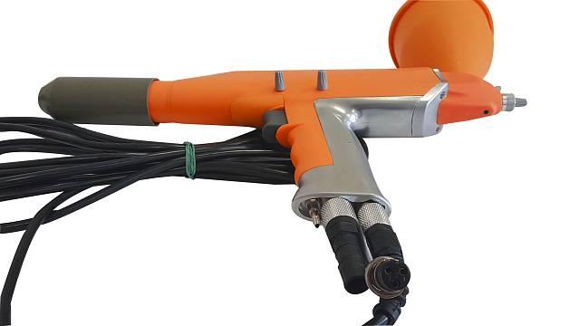 Пистолет для порошковой покраски. трибостатический или электростатический?   проинструмент