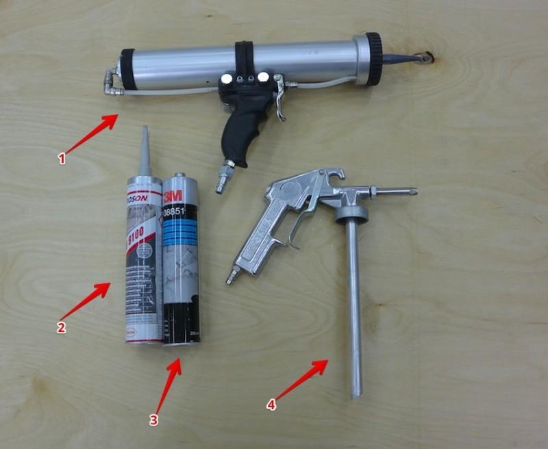 Как пользоваться пистолетом для герметика: инструкция и полезные советы