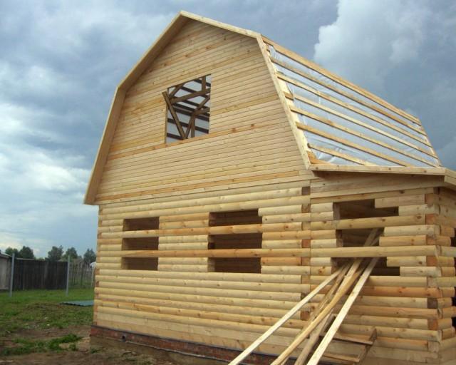Строительство бань из бруса недорого, купить или построить брусовую баньку в москве