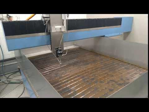 Гидроабразивная резка металла своими руками [технология]
