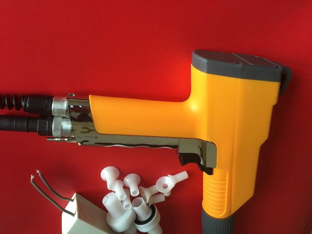 Электростатический или трибостатический метод нанесения для порошковой покраски