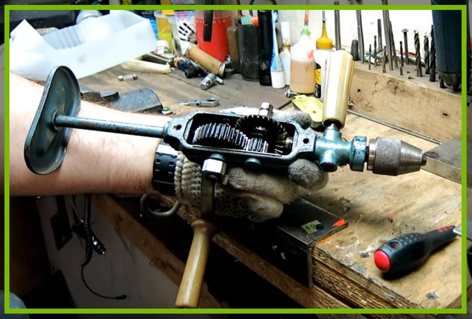 Привет из ссср. ручная дрель механическая. привет из ссср устройство ручной дрели