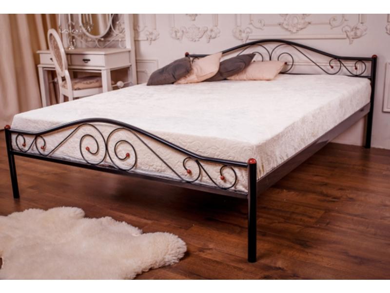 Кованые кровати (46 фото) — круглые, семейные, детские