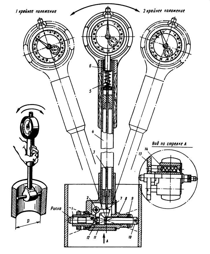 Как правильно пользоваться нутромером: настроить индикаторные и микрометрические модели – пример замера на видео