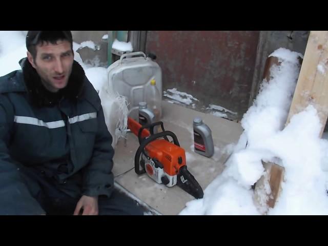 Работа бензопилой - инструкция, запуск, техника безопасности