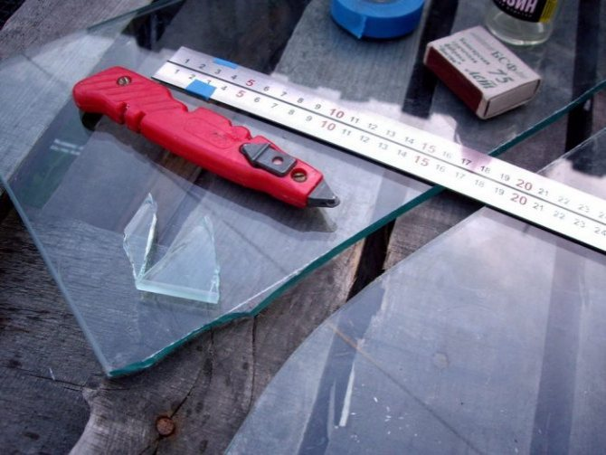 Как разрезать рифленое стекло в домашних условиях