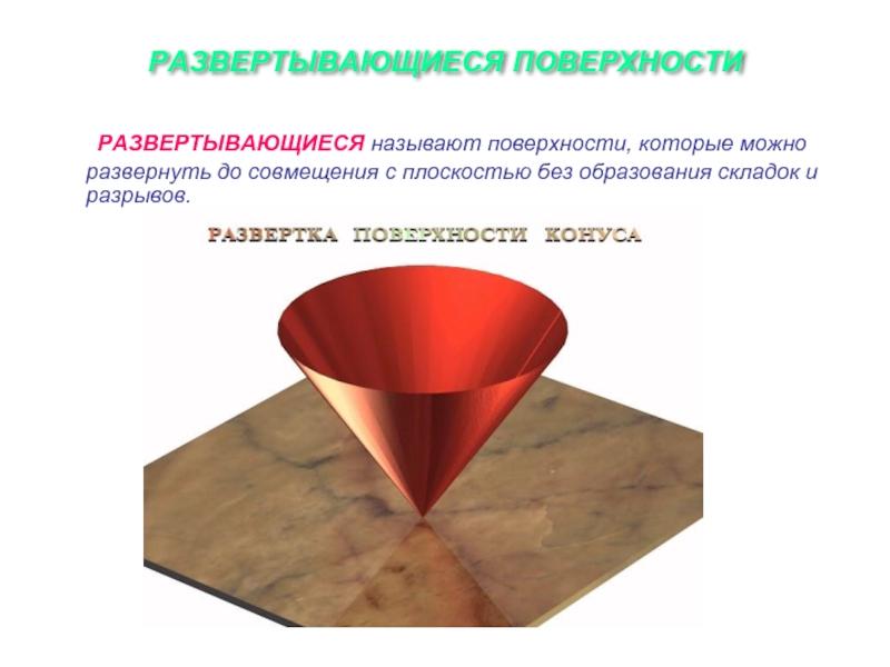 Какие поверхности называют линейчатыми
