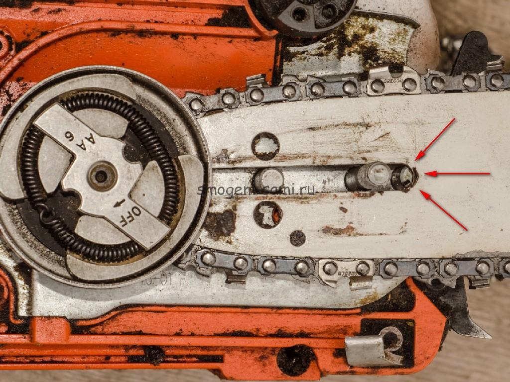 Как правильно натянуть цепь на бензопиле — инструкция, устройства