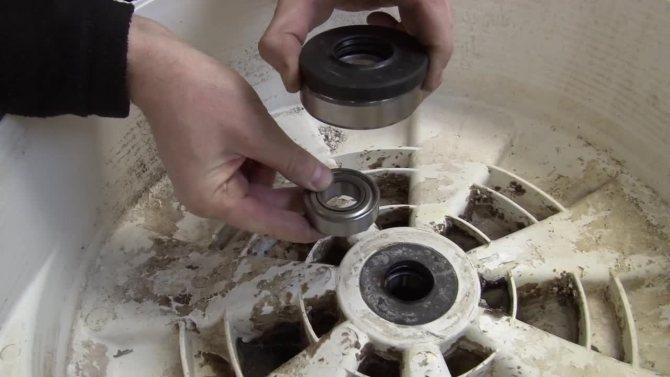 Замена подшипника бетономешалки своими руками