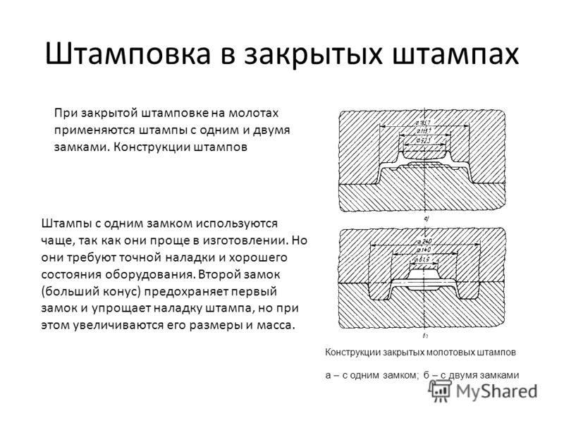 Лекция 11. ковка и горячая объемная штамповка