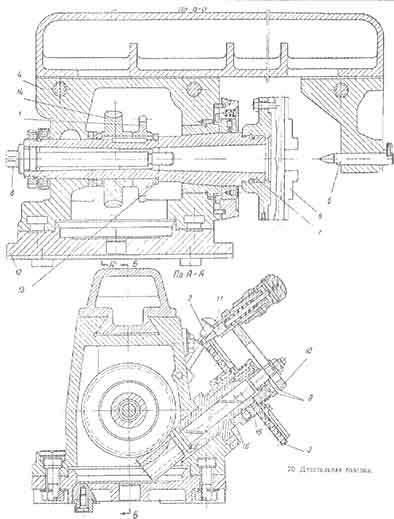 Технические характеристики фрезерного станка 675п