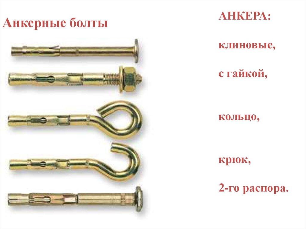 Анкерный болт. описание, особенности, виды, применение и цена анкерных болтов
