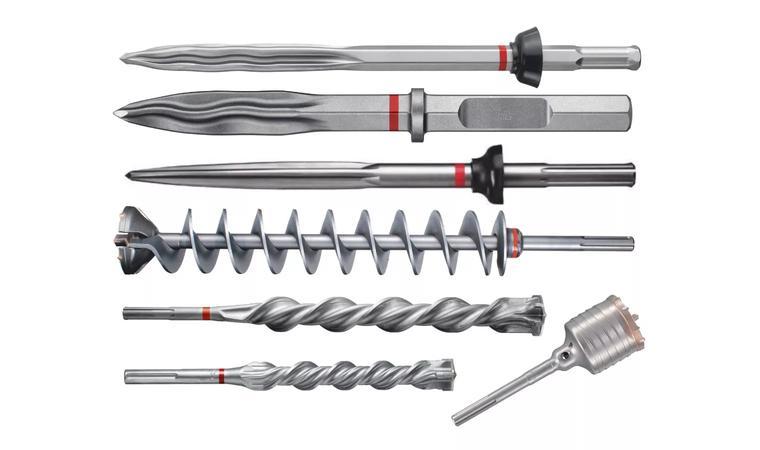 Зубило для перфоратора: как пользоваться долотом, канальной пикой и буром-лопаткой по бетону? выбираем набор лопаток для штробления