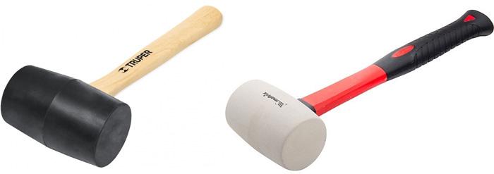 Резиновая киянка: выбор молотка с резиновым бойком для укладки плитки. описание инструмента. для чего используется?