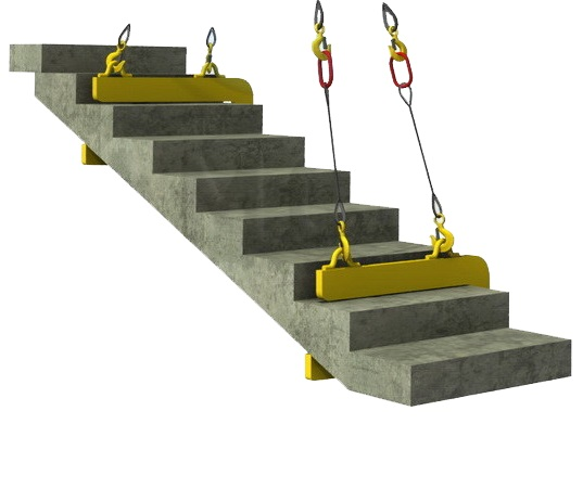 Захват лестничных маршей