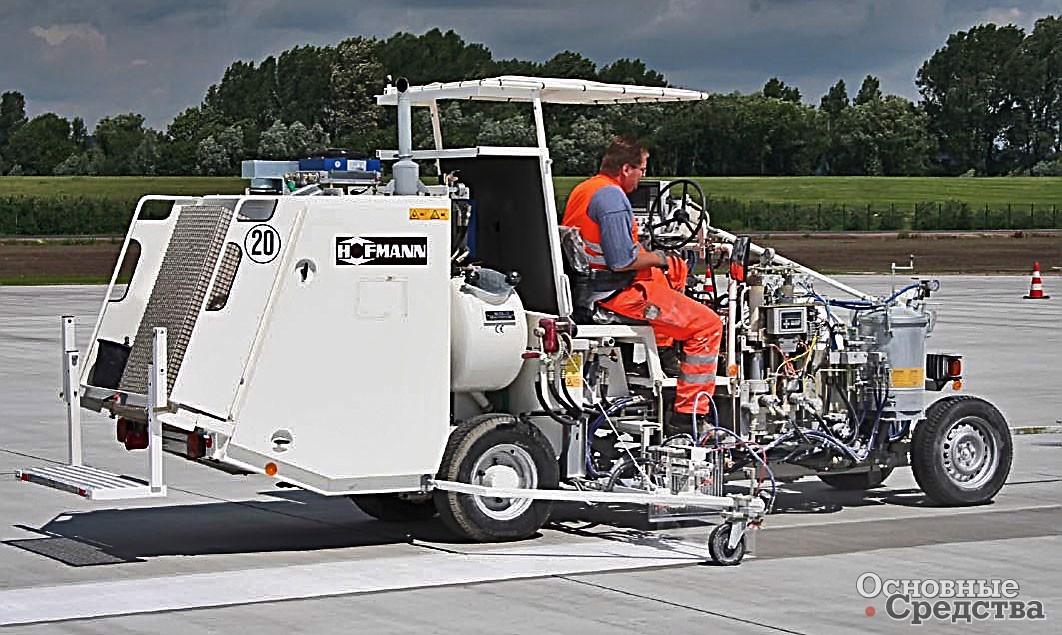 Маркировочные машины для нанесения дорожной разметки - морской флот