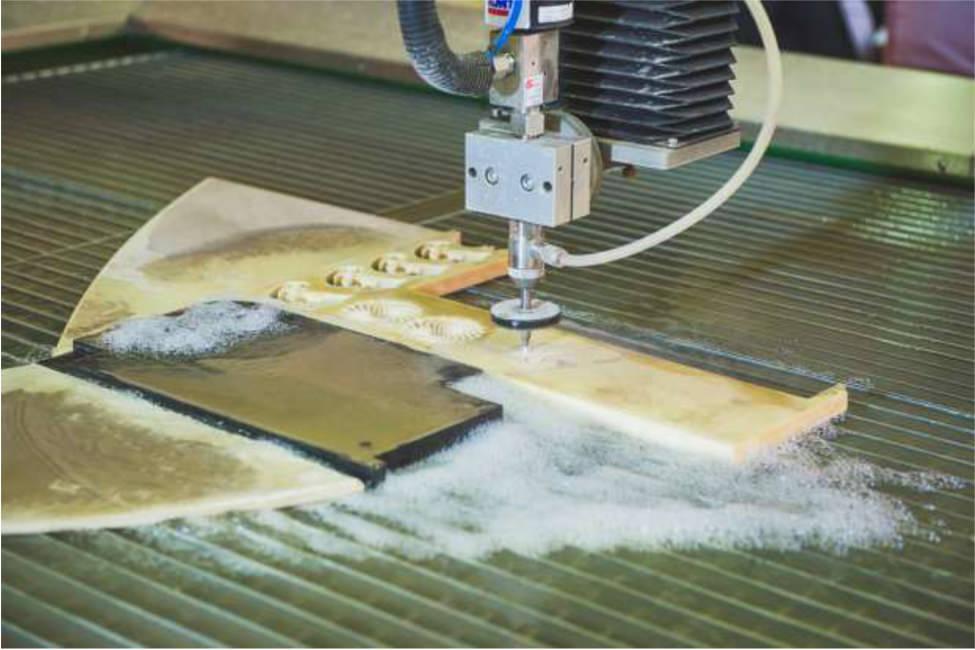 Технология гидроабразивной резки металла