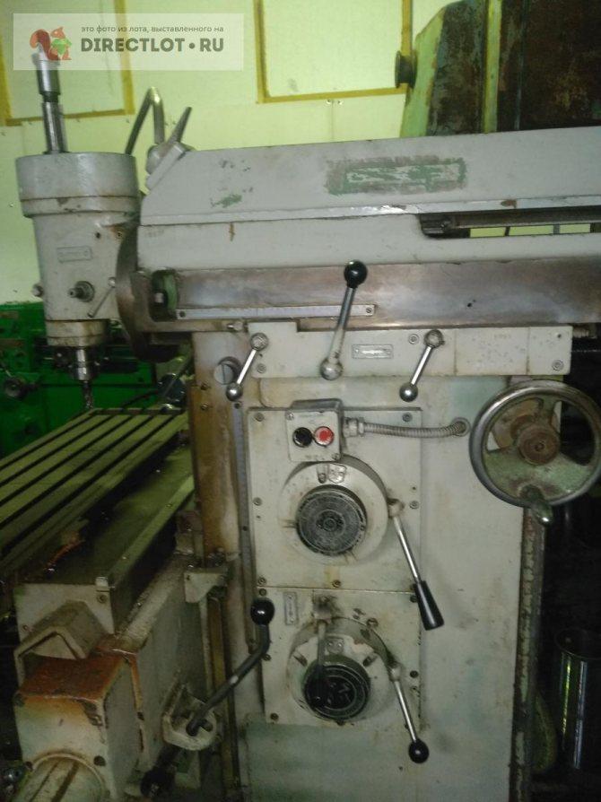 Ереванский фрезерный станок 675. особенности конструкции и работы важнейших элементов станка. п станок фрезерный широкоуниверсальный повышенной точности. назначение и область применения
