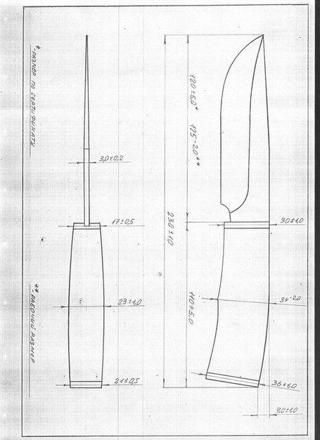 Размеры метательного ножа. как сделать метательный нож своими руками, чертежи и размеры