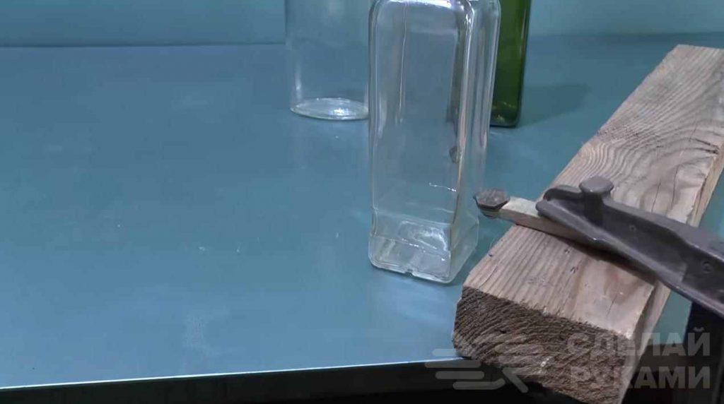 Как разрезать стеклянную бутылку, детальное описание методов
