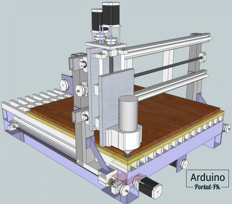 Фрезерный станок с чпу: настольный мини-фрезер, гравировально-фрезерный, 5-осевой и другие модели, чем смазывать станок, комплектующие и оборудование