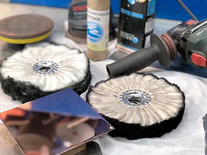 Чем отполировать нержавейку до зеркального блеска - справочник металлиста