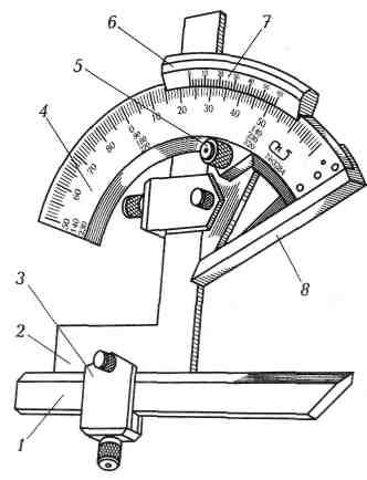 § 13. инструменты для измерения углов