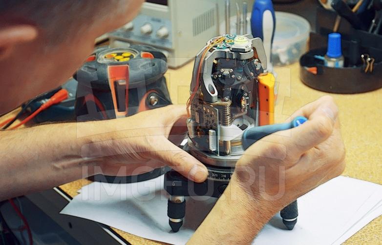 Как можно ремонтировать лазерный уровень