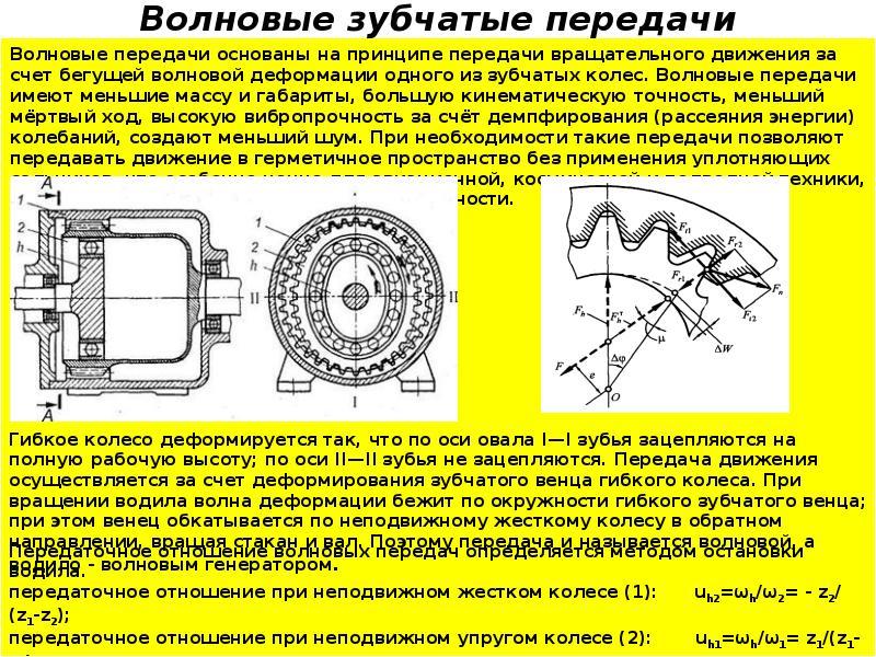 Назначение и устройство редуктора