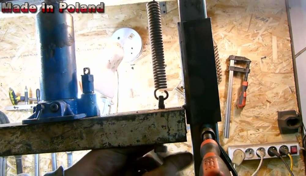 Сверлильный станок: как сделать самому, компоненты, чертежи, изготовление   строй легко