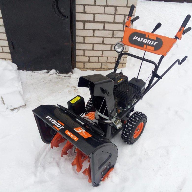 Снегоуборщик patriot pro 750 - отзывы