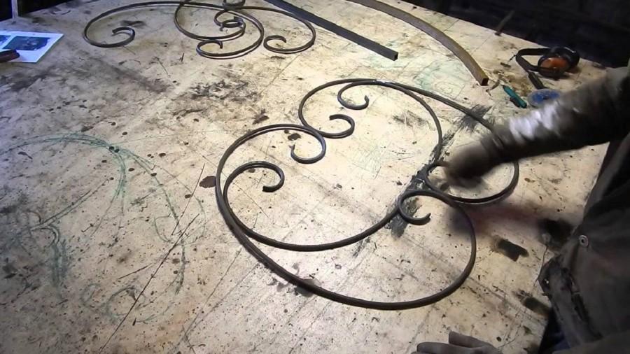 Станки для холодной ковки металла ажурсталь: видео ажурной ковки, кованые элементы