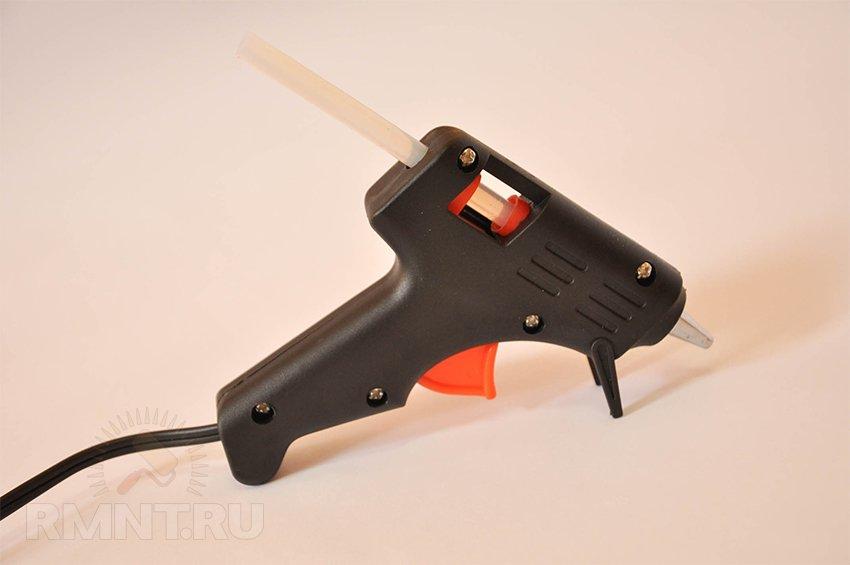 Клеевой пистолет — что можно клеить, виды расходных материалов, характеристики популярных моделей