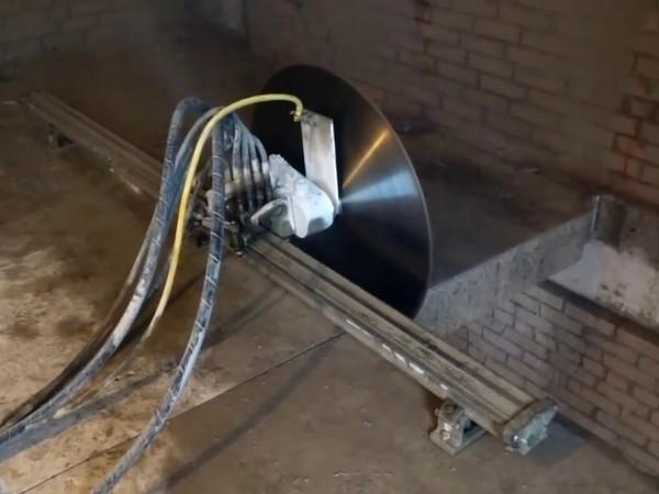 Технология резки алмазным диском