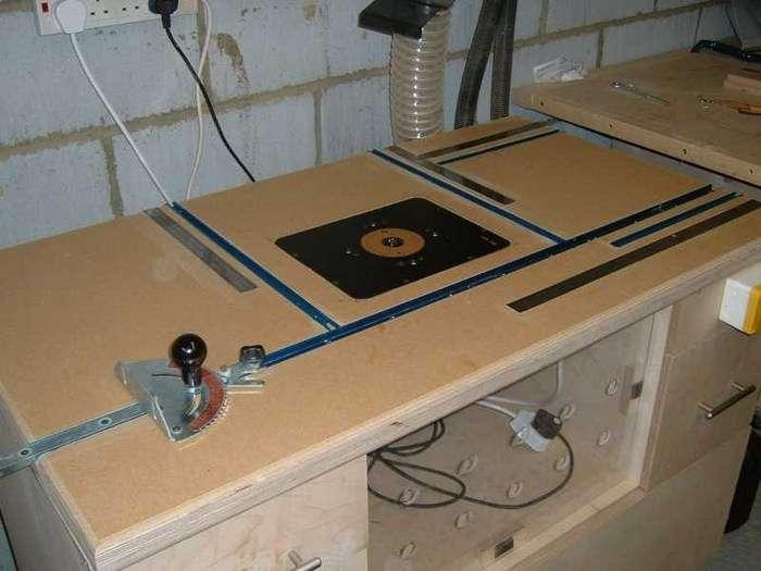 Фрезерный стол своими руками – инструкция изготовления, чертежи, схемы, таблицы