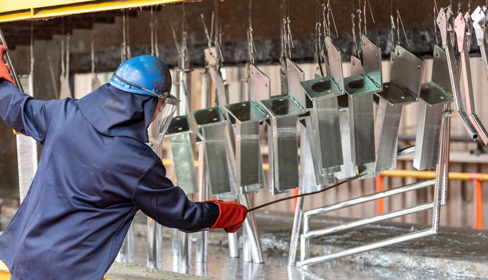 Холодное цинкование металла - технология, составы