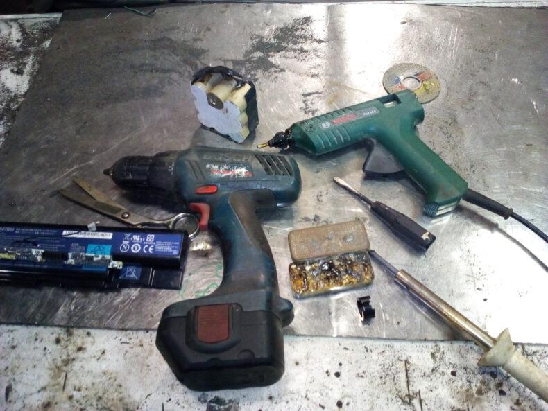 Особенности ремонта шуруповерта