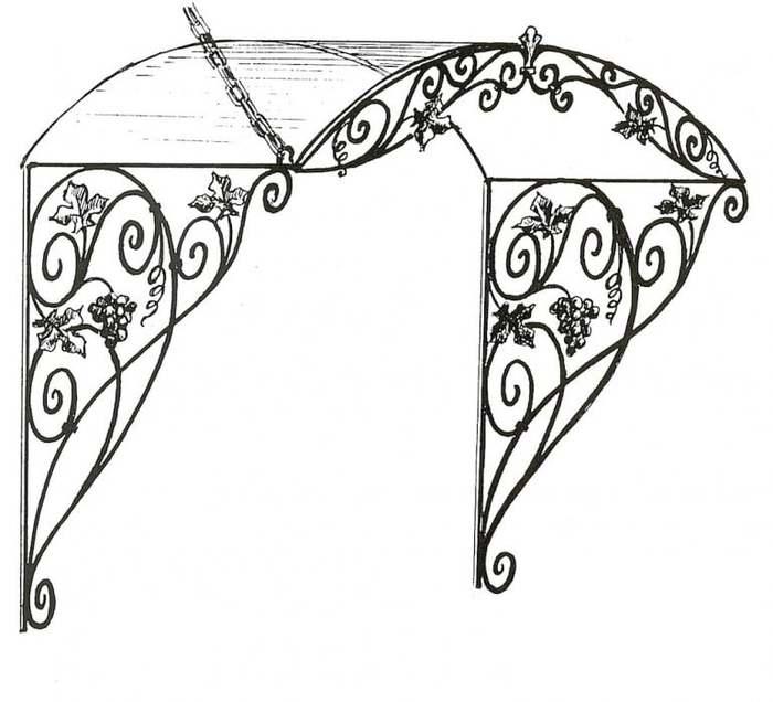 Кованые ворота своими руками: фото, чертежи, схемы, эскизы, конструкции калитки, образцы и узоры на видео
